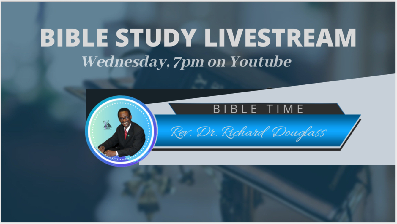 Bible Study for the entire family via Youtube | 7:00pm